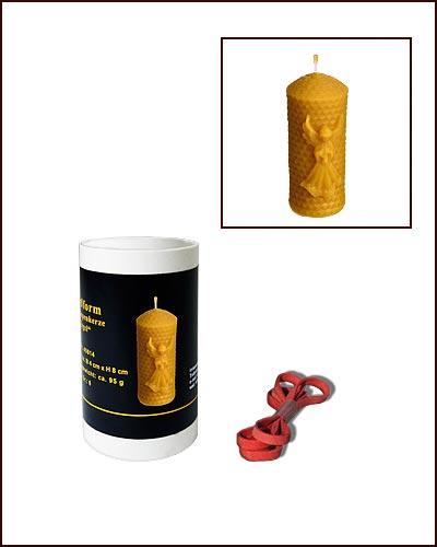 kerzen gie form 6 eck kerze 8 x 6 cm shop bienenweber. Black Bedroom Furniture Sets. Home Design Ideas