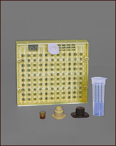 System Sockel für das Nicot Bienenköniginnen Zuchtsystem 10 Stück