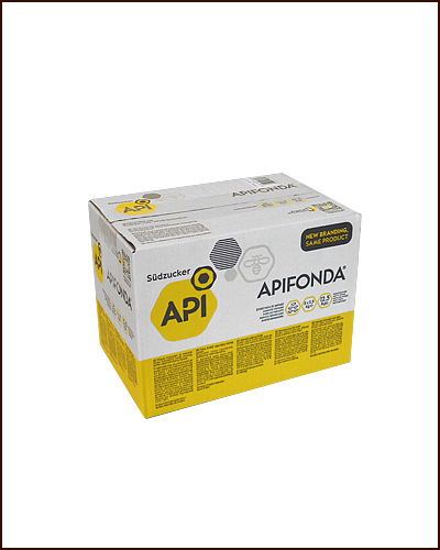 Apifonda Teig 12,5 kg API-Fonda Futterteig Bienen Bienenfutter 5 x 2,5 kg
